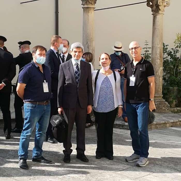 הוקרה לנציגי המכללה האקדמית אשקלון בכנס אקדמי בין-דתי ובינלאומי באיטליה