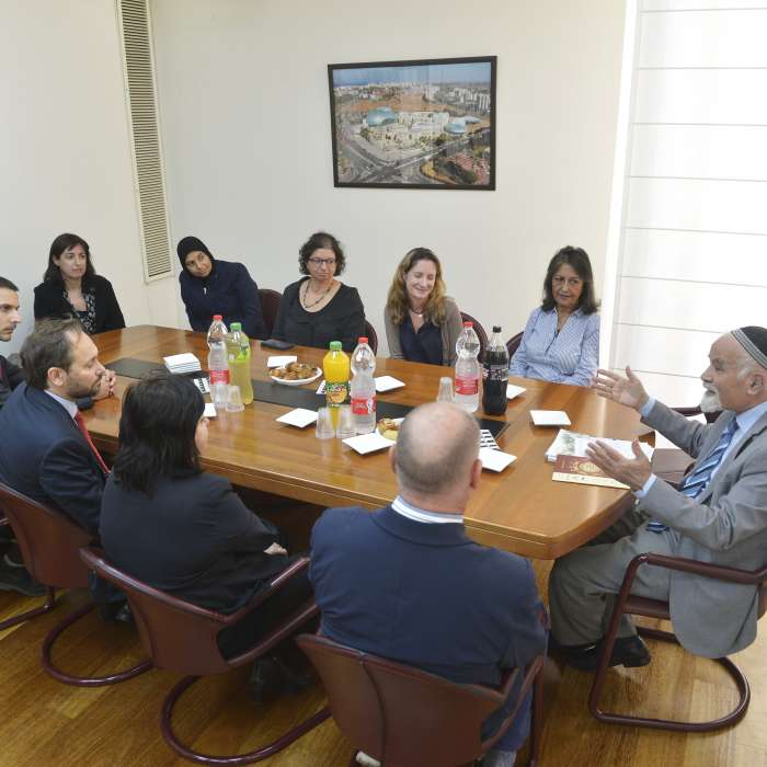 The EU ambassador's visit to Ashkelon College